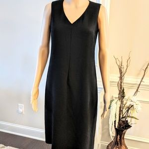 DKNY Donna Karen Classic Black Sheath Dress Size 4
